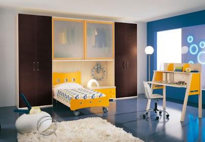 غرف نوم للاطفال modern-kids-room-dec