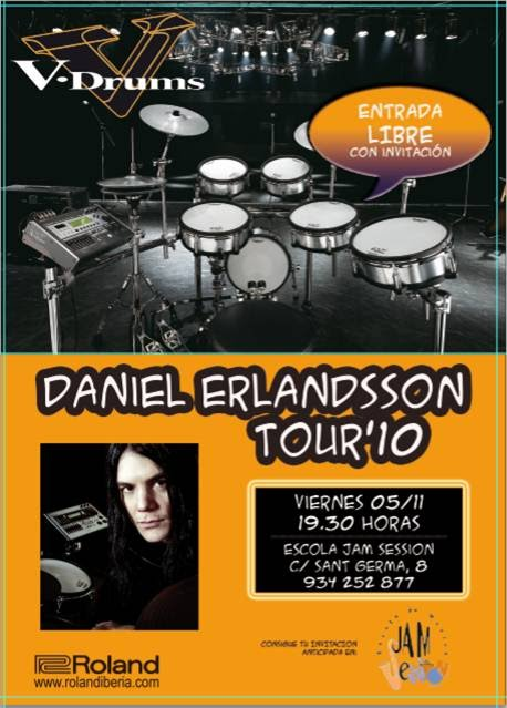A CLASS WITH DANIEL ERLANDSSON (ARCH ENEMY)