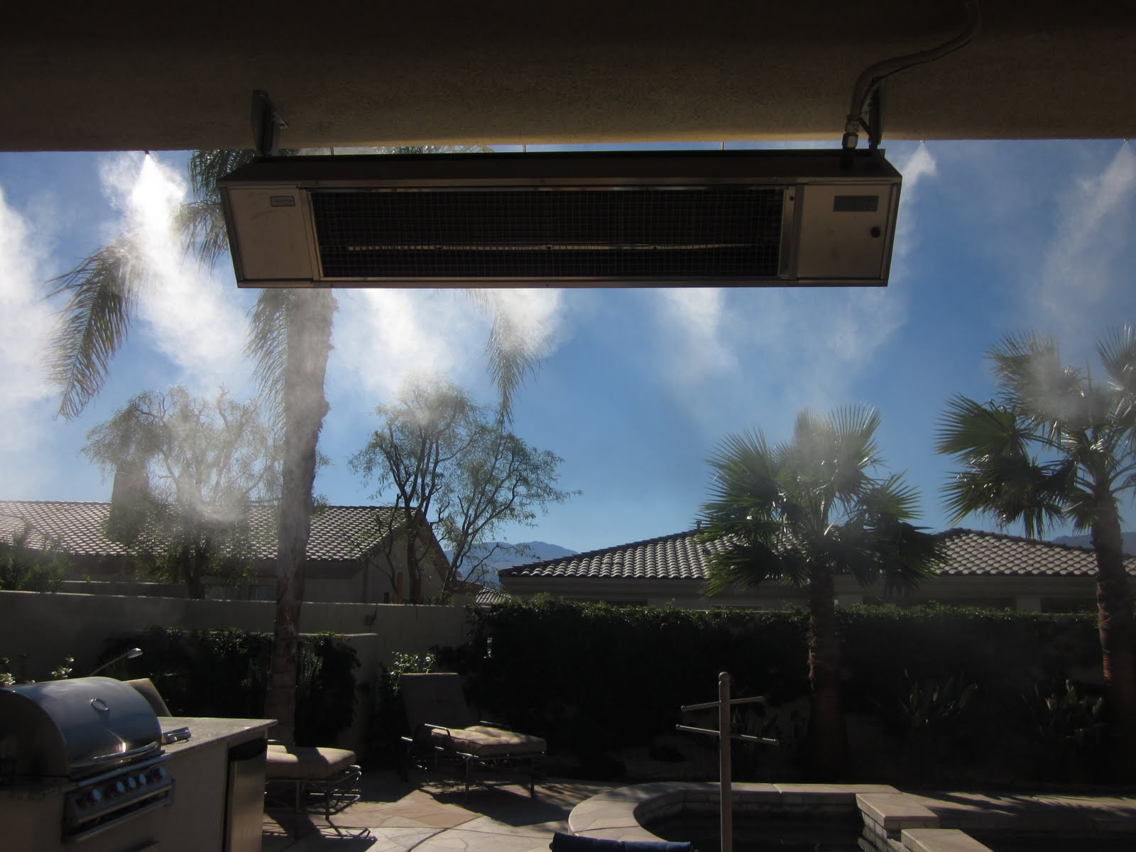 Misting System Winterizing : Arctic fog misting systems
