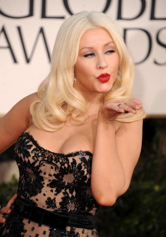 christina aguilera 2011 golden globes. Christina Aguilera – 2011
