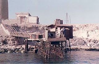 dock at Big Brother island, Red Sea