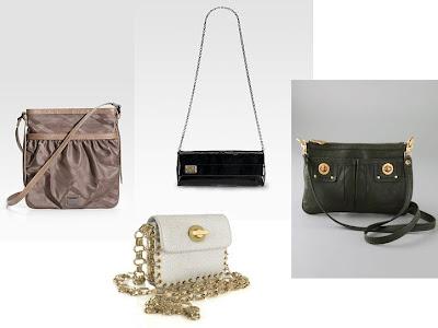 -Burberry tonal shoulder bag 350 via Saks