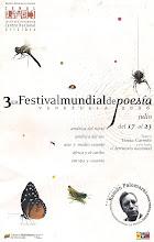 3er. Festival Mundial de Poesía
