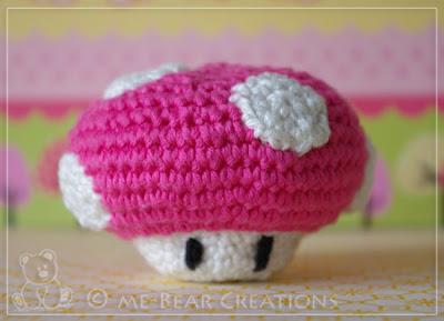 amigurumi, softie, plushie, sweet, cute, umigumi, crochet, kawaii, stuffed, soft, mushroom, kids, super mario land, nintendo, pink, autumn, fall, schattig, paddenstoel, paddestoel, kinderen, knuffel, lief, zacht, roze, herfst, najaar