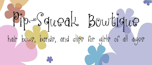 Pip-Squeak Bowtique Flowers