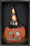 Folk Art Pumpkin
