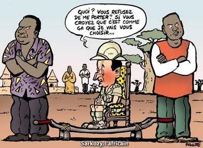 A moins que ce ne soit lAfrique qui porte un jour la France...