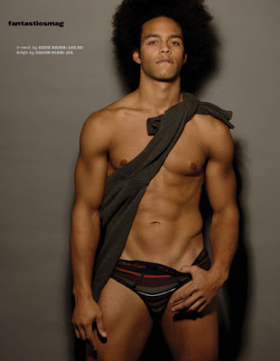 Black Male Underwear Model: Boxers and Briefs