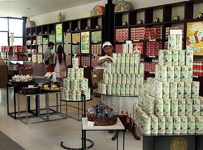 A souvenir shop.