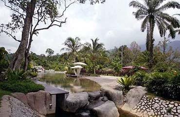 Tanjung Malim Sungai Klah Hot Spring Park