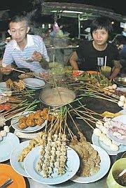 Malaysian Food - Lok Lok
