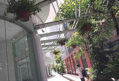 Breezy experience: Stroll in the shade at the KL City Walk when it opens.