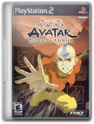Capa+ +Avatar Download Avatar: The Last Airbender   PS2