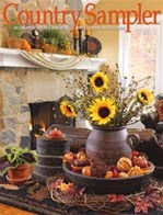Our home was in Country Sampler magazine!