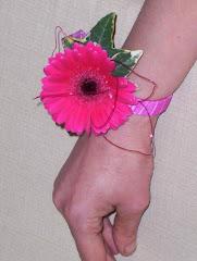 Gerbera Wrist Corsage