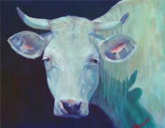 """PEI Cow No. 1 - """"Sweet Pea"""" (2006)"""