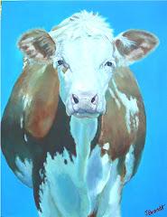 """PEI Cow No. 2 - """"Blossom"""" (2007)"""