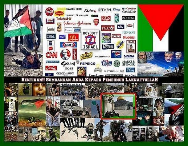 Boikot Barangan Israel & Sekutunya