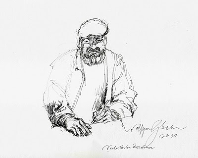 morose wolfgang glechner drawing