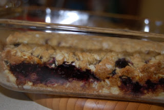 Blackberry Oatmeal Bars
