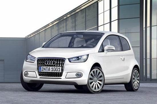 The Audi A2 will be an electric-only car when it is launched in 2012,