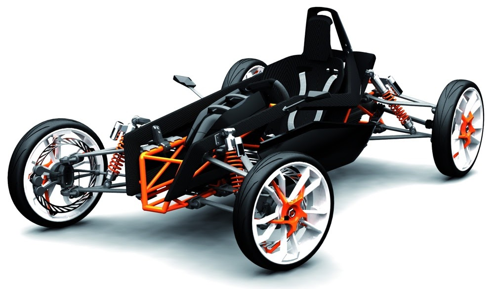 ktm sr 85 deuce high performance quadricycle electric vehicle news. Black Bedroom Furniture Sets. Home Design Ideas