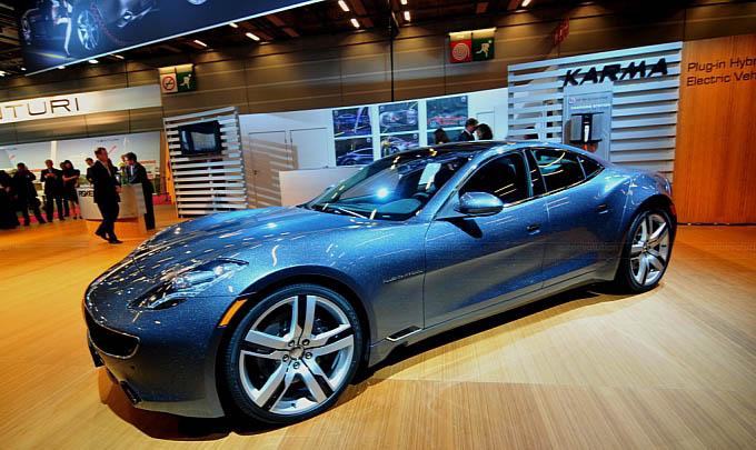 Fisker Debut Production Karma Hybrid Paris 2010 Electric