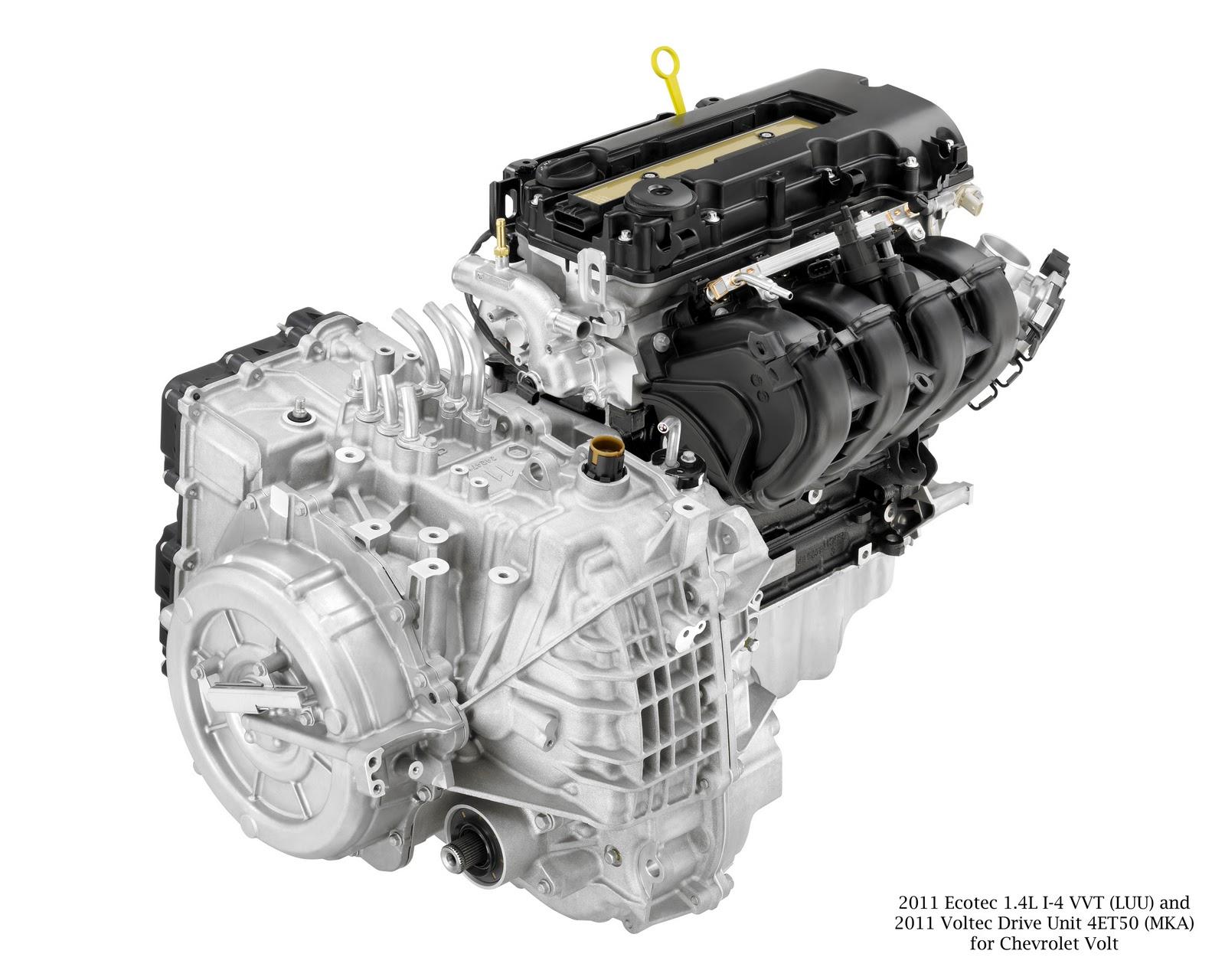 Chevrolet Volt Propulsion System Named A Wards 10 Best Engine Gm Ecotec