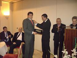 PREMIO CABALLA 2009 D. CARLOS BLASCO LEÓN VICECONSEJERO DE SALUD Y CONSUMO CIUDAD AUTONOMA DE CEUTA