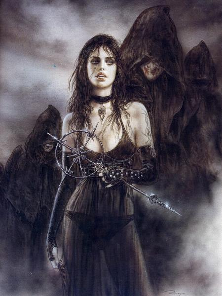 Royo has produced paintings for both his own books