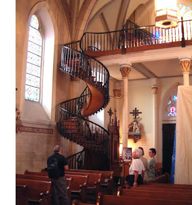 Loretto Chapel Staircase, Santa Fe, NM | Santa Fe, Fes and Santa Fe Nm