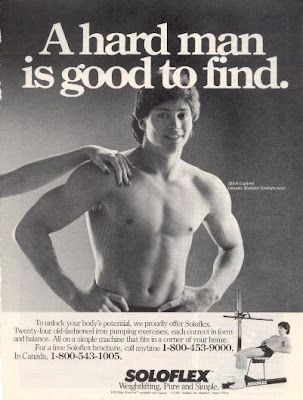 ... ads for Soloflex - which EVERY gay boy paid attention to. Remember this?