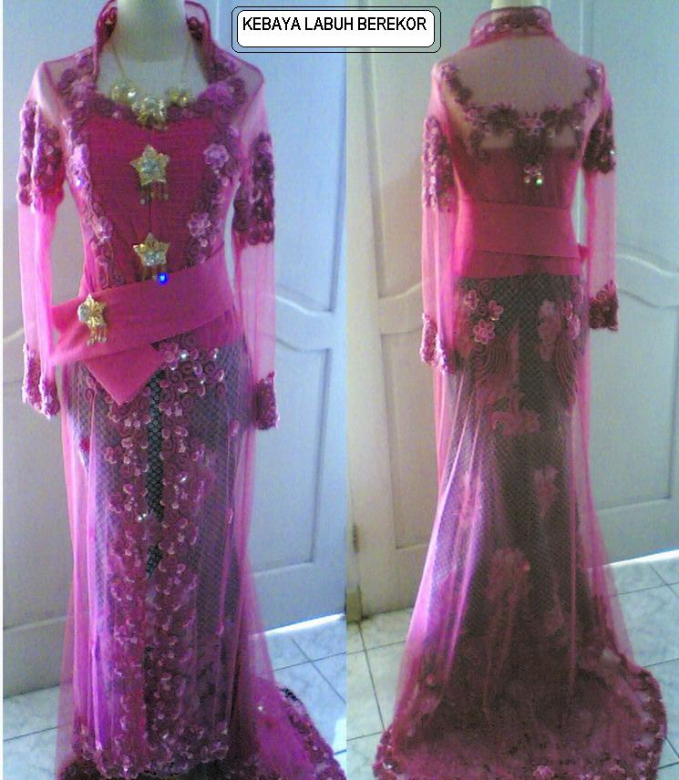 full beaded kebaya sequins beads decorated at the hems bottom edge of