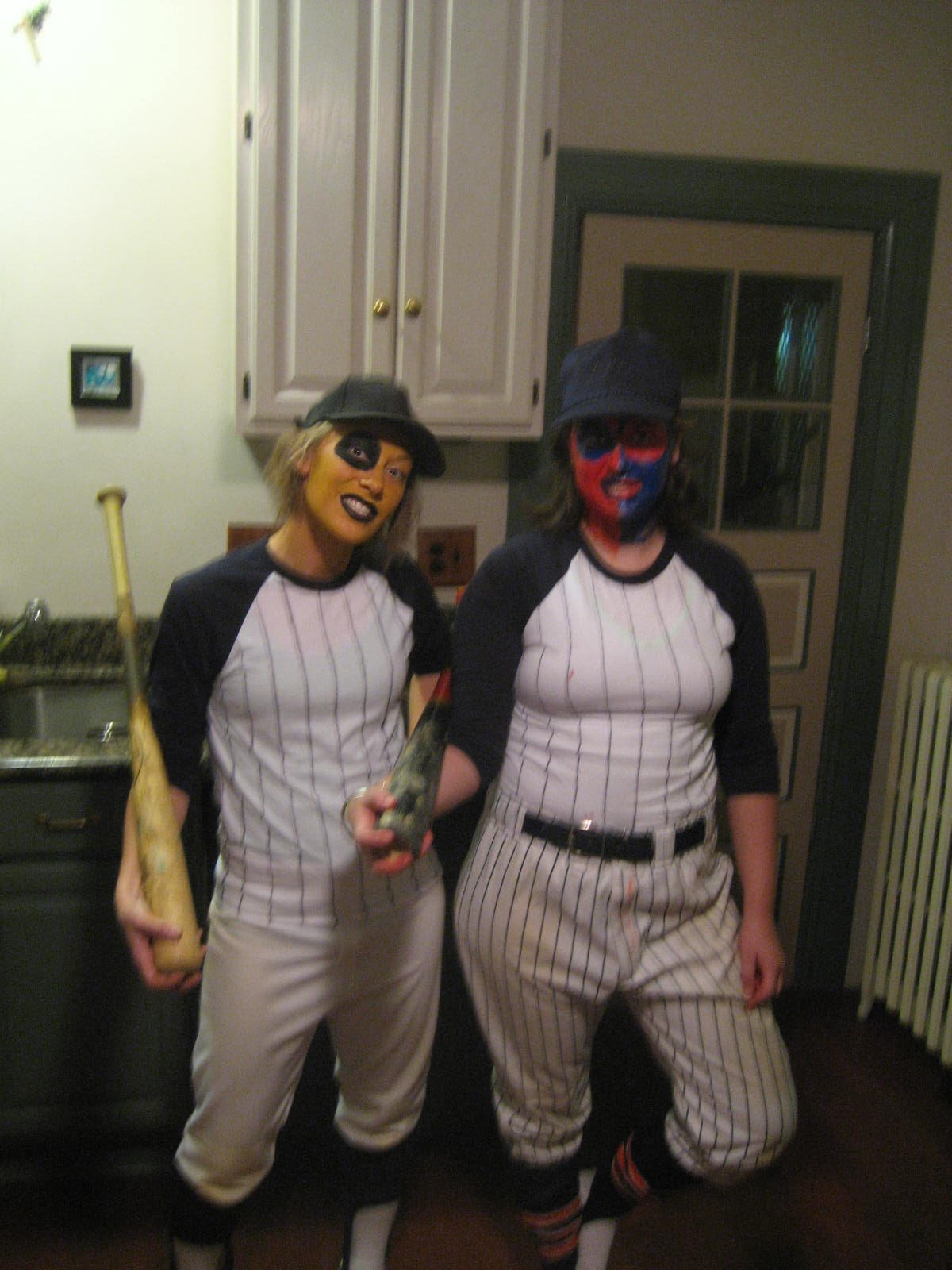 My friend Alex and I went to a party last night dressed as the Baseball Furies gang from The Warriors movie. Scary! Happy Halloween everyone!  sc 1 st  Errant & E.r.r.a.n.t: Happy Halloween!
