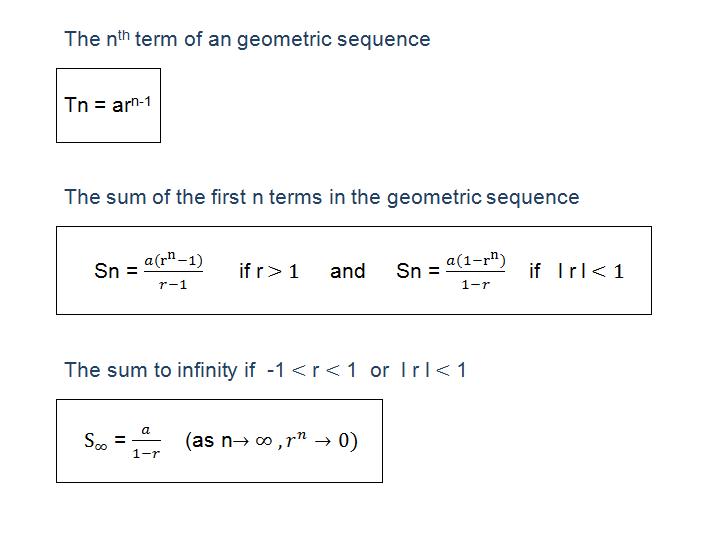maths group5: Geometric Progression Formula: