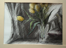 Yellow Tulips - sketch