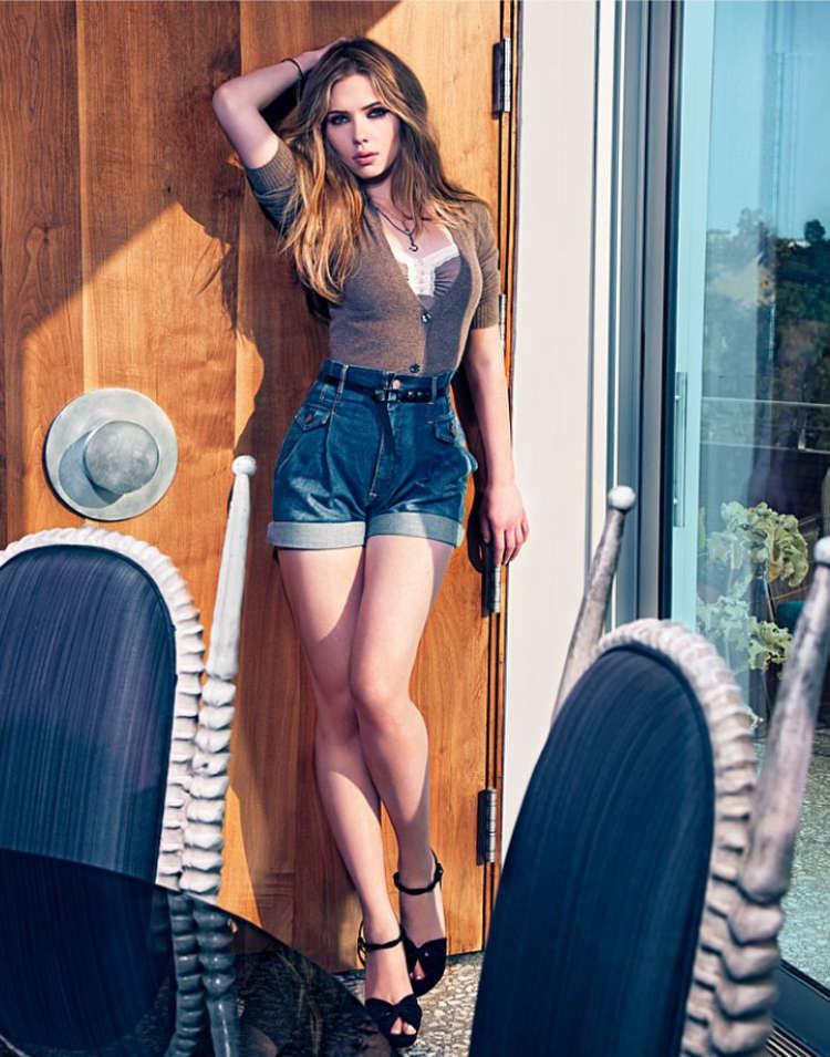 Scarlett Johansson for Mango Summer Campaign