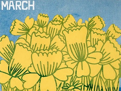 marcus walters,march, daffodils