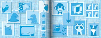 blue endpapers rogues gallery
