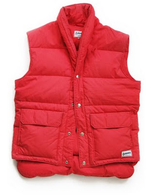 Marty McFly red body-warmer gillet