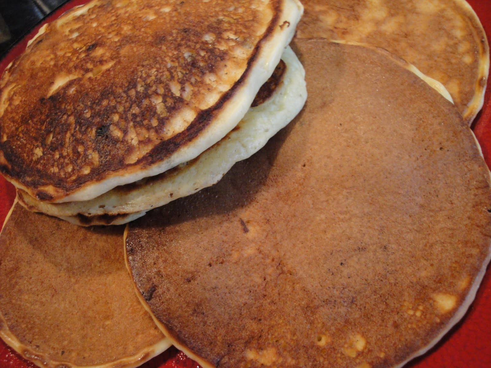 Squirrels-n-Sweets: Edna Mae's Sour Cream Pancakes
