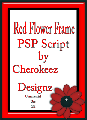 http://doin-it-digital-scraps.blogspot.com/2009/07/red-flower-frame-psp-x-script.html