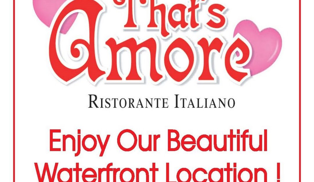 That's amore tampa coupon