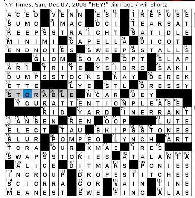 american essayists crossword