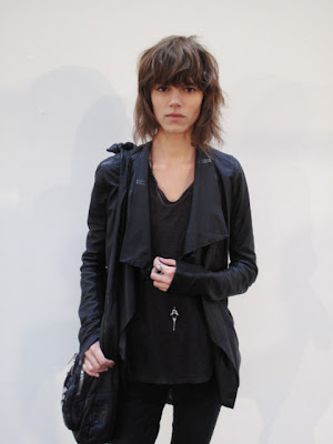 The Danish model Freja Beha Erichsen has an edgy look, a look that I could