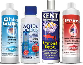 How to keep goldfish tank clean and water clear for Water conditioner for fish tank