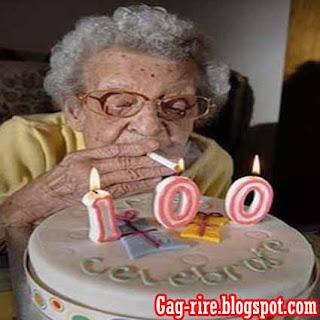 100 ans femme
