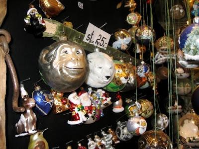Monkey ornaments