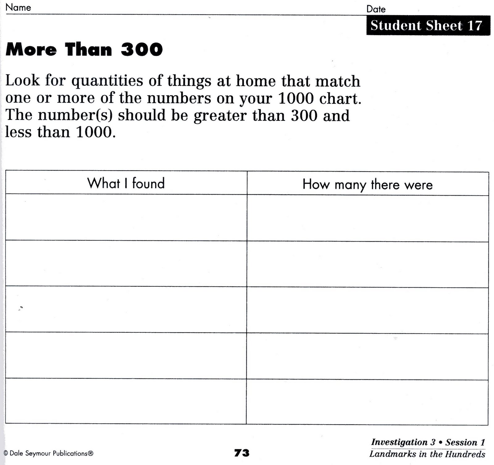 Worksheet Problems Of Math worksheet problems of math mikyu free out in left field the week 3rd grade investigations