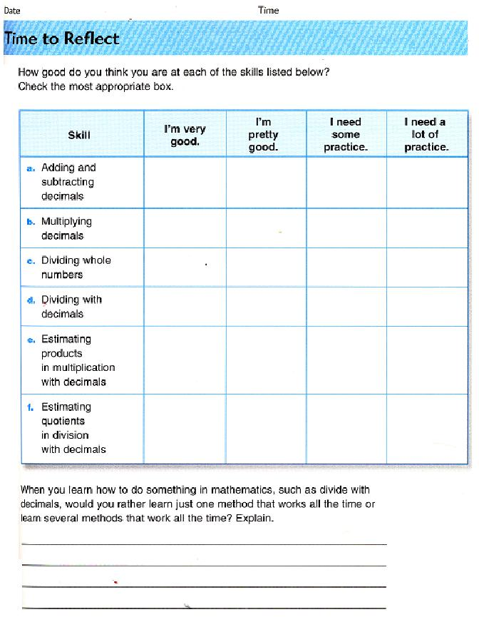 Printables Everyday Mathematics Worksheets out in left field math problems of the week 6th grade traditional vs everyday math